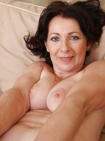 Hot and hairy pussy and pits on gorgeous 50 year MILF old Anna B