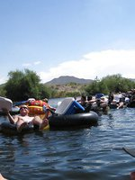 Busty blonde, Rachel Aziani, has a day of fun and sun with Priya Anjali Rai and Chica rafting down the river!