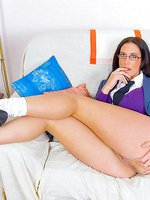 Emma Butt Horny Study Of Her Hot Body in College Uniform
