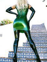 Lavish Green Latex