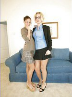 Girl Girl - 2 Secretaries Taking It Off & Eating Eachother