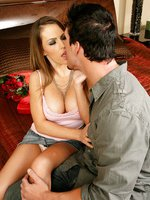 Jenna Presley having her curvy ass fucked hard