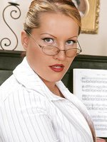 Huge Laura M. dominates schoolgirl