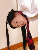 Bigmouth schoolgirl punished!