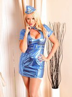 Hot Air Hostess Lucy Zara invites you to join the Mile High Club, fly with Blue Air today