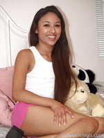 Sweet Asian teen has a private meeting with her horny principal