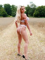 Dannii Get Naked Outdoors