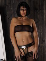 Steel Chastity Belt and Stockings