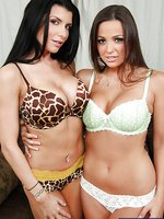 Abigail Mac & Romi Rain in Lesbian Girl on Girl