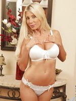 Puma Swede rocks Anilos with her huge tits and trimmed pussy
