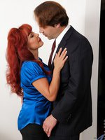 Check out this Anilos redhead as she gets banged by her horny husband