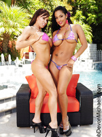 Nina Mercedez and Devon Michaels