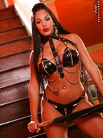 Nina Mercedez LATEX AND CHAINS