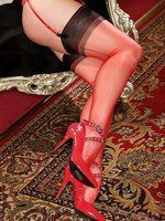 I love the feel of my fully fashioned nylons.