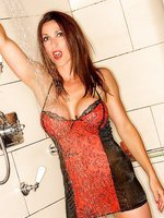 Miss Hybrid clothed shower