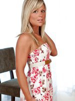 Madden White Flower Dress