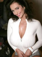 Hot Denise Milani loves posing