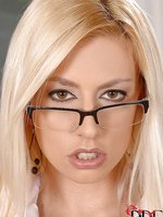 Sexy Jessie Volt is teachers pet